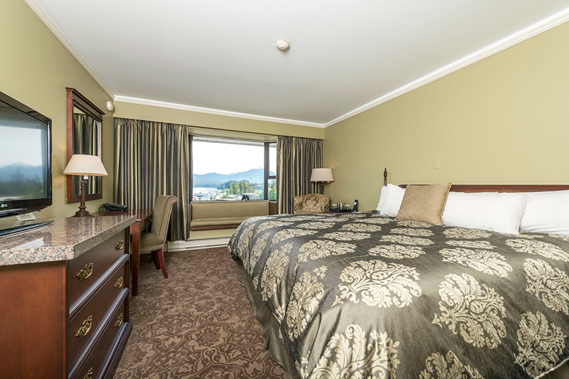 prince rupert accomodation with ocean view of cow bay