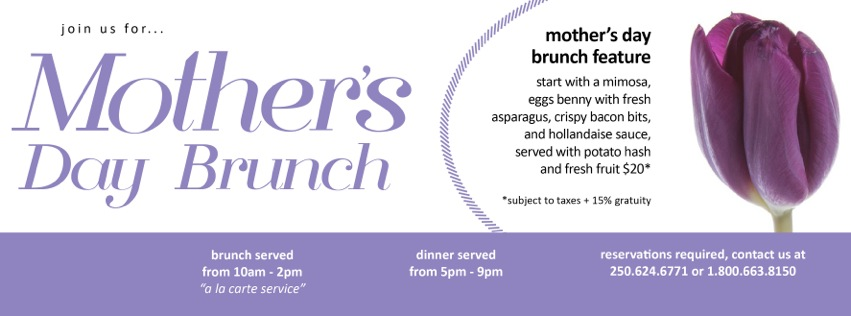 Mother's Day brunch ad