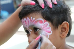 Prince Rupert Canada Day Child Face Paint